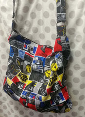 Slouchy bag sewing tutorial sewing pattern