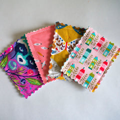 Scraptastic Face wipes sewing tutorial on Lorelei Jayne