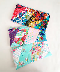 Paper pieced pencil case by alison on Loreleijayne