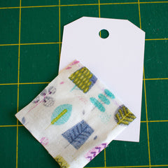 Make beautiful fabric swatches with cricut maker