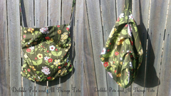 Adorable slouchy bag sewing tutorial