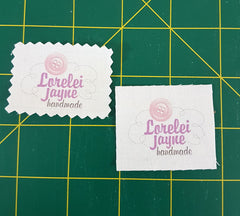 Handmade labels how to make