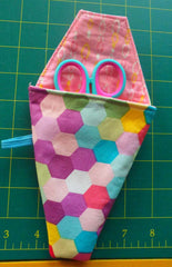 Cute Scissor pouch scissor case sewing pattern