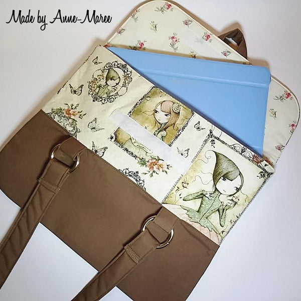 Paige Portfolio Bag PDF Sewing Pattern  PDF Pattern free sewing patterns - Lorelei Jayne