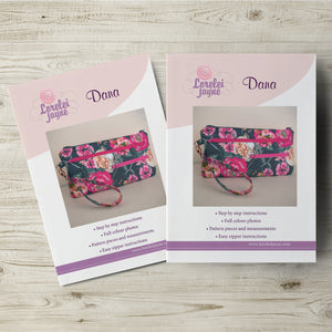 Dana Bag Paper Sewing Pattern  Paper Pattern free sewing patterns - Lorelei Jayne