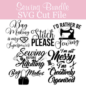Sewing Bundle SVG  SVG file free sewing patterns - Lorelei Jayne
