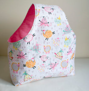 Yarn Bag Sewing Pattern Piece  Pattern Pieces free sewing patterns - Lorelei Jayne