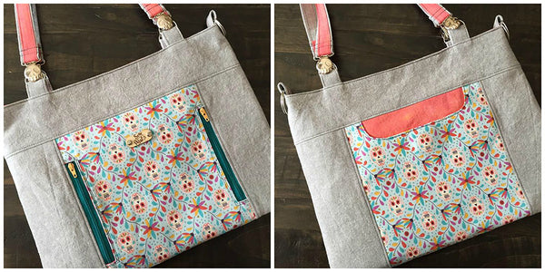 Jayne Bag PDF Sewing Pattern  PDF Pattern free sewing patterns - Lorelei Jayne