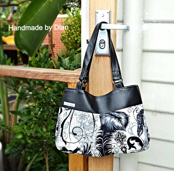 BG Bag and Beach Bag PDF Sewing Pattern  PDF Pattern free sewing patterns - Lorelei Jayne