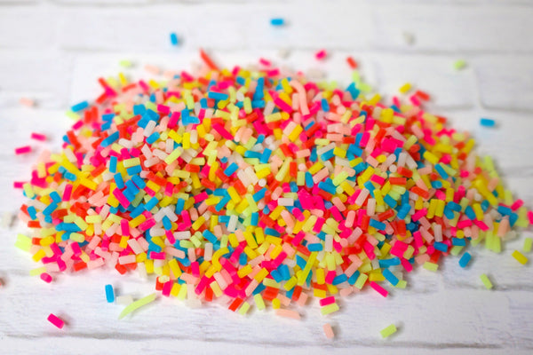 Rainbow Clay Sprinkles