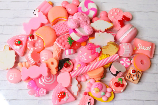 Pink Sweets Slime Charms