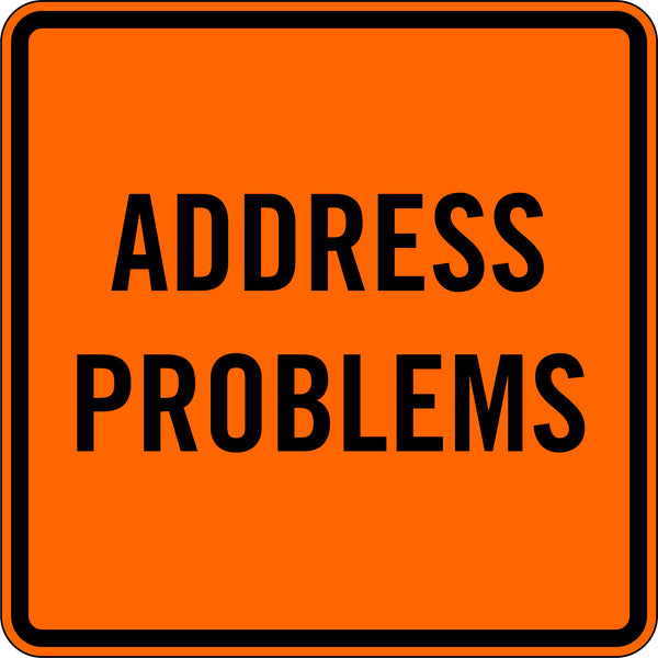 ADDRESS PROBLEMS