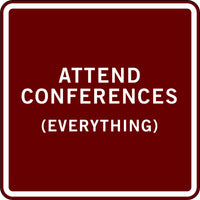 ATTEND CONFERENCES