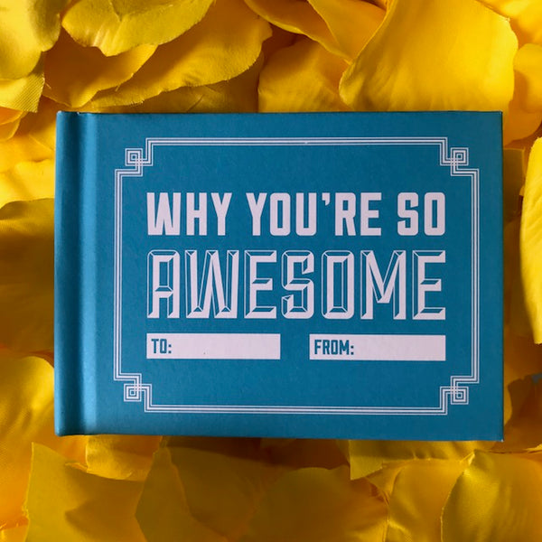 WHY YOU'RE SO AWESOME