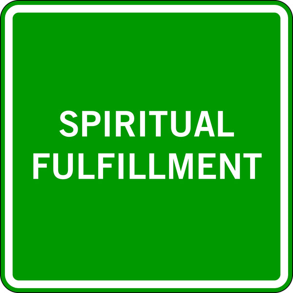 SPIRITUAL FULFILLMENT