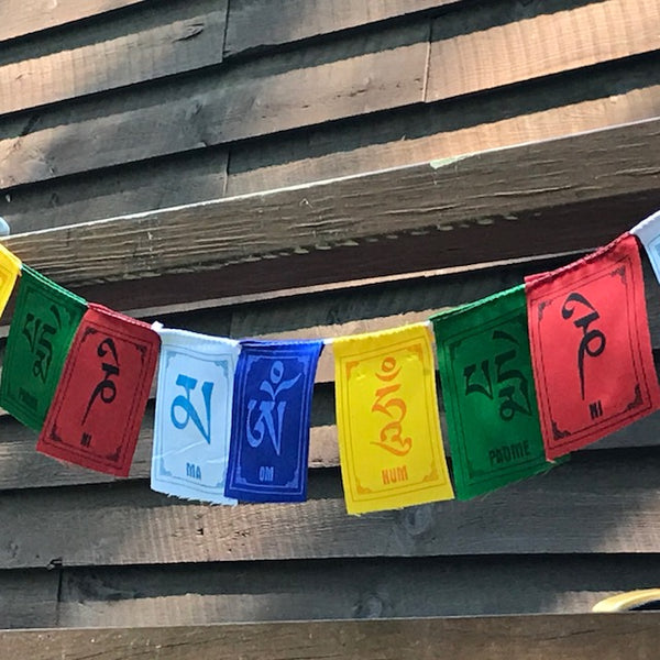 PRAYER FLAGS I