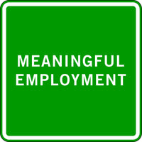 MEANINGFUL EMPLOYMENT