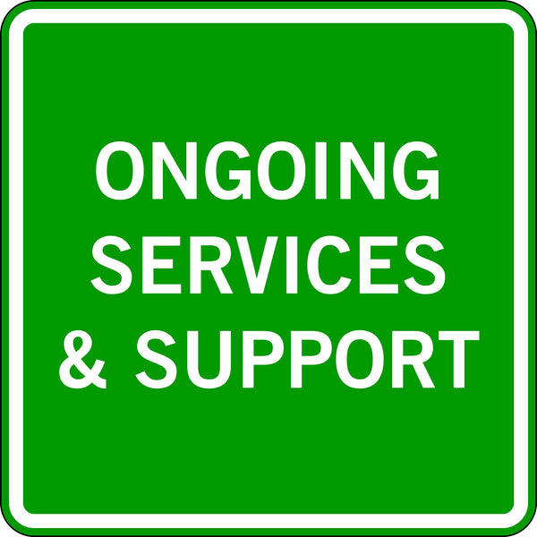 ONGOING SERVICES & SUPPORT