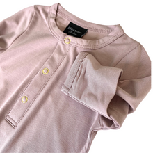 Load image into Gallery viewer, Little Bipsy Baby Gown - Mauve