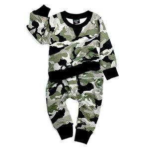 Little Bipsy Camo Pullover