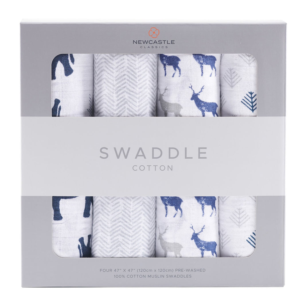 In The Wild Swaddle 4-Pack