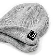 Load image into Gallery viewer, Little Bipsy Grey Knit Beanie