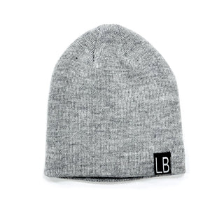 Little Bipsy Grey Knit Beanie