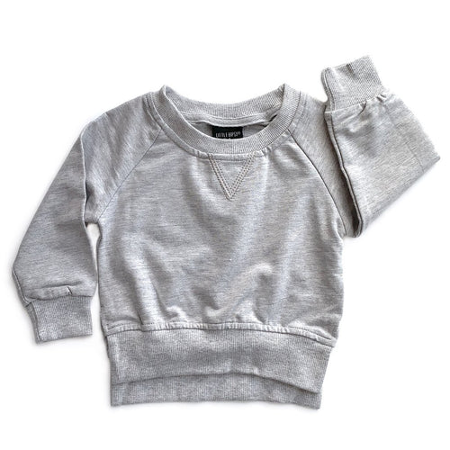 Little Bipsy Grery Pullover
