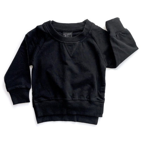 Little Bipsy Black Pullover