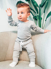 Load image into Gallery viewer, Little Bipsy Thermal Jogger - Grey
