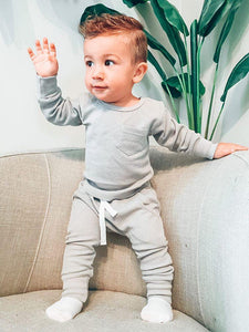 Little Bipsy Thermal Jogger - Grey