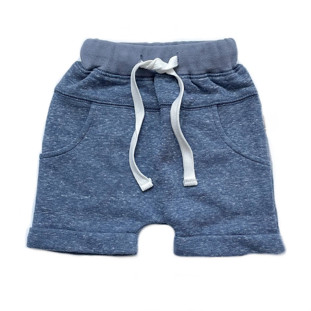 Little Bipsy Washed Harem Short - Navy