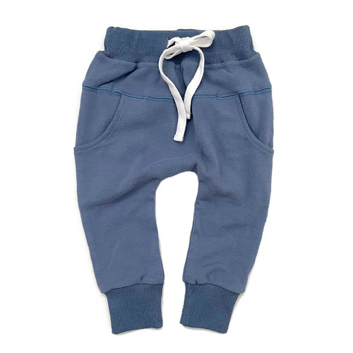 Little Bipsy Joggers - Ocean Blue