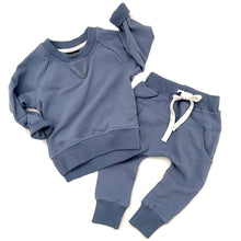 Load image into Gallery viewer, Little Bipsy Joggers - Ocean Blue
