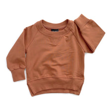 Load image into Gallery viewer, Little Bipsy Rust Pullover