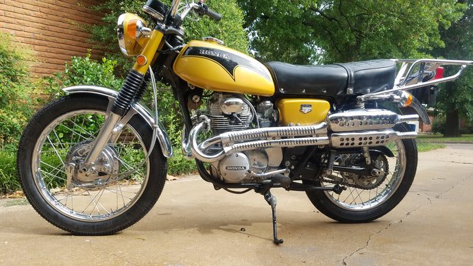 1971 Cl350 Scrambler Restoration