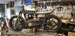 """The Waif"" Yamaha XS650 flat tracker"