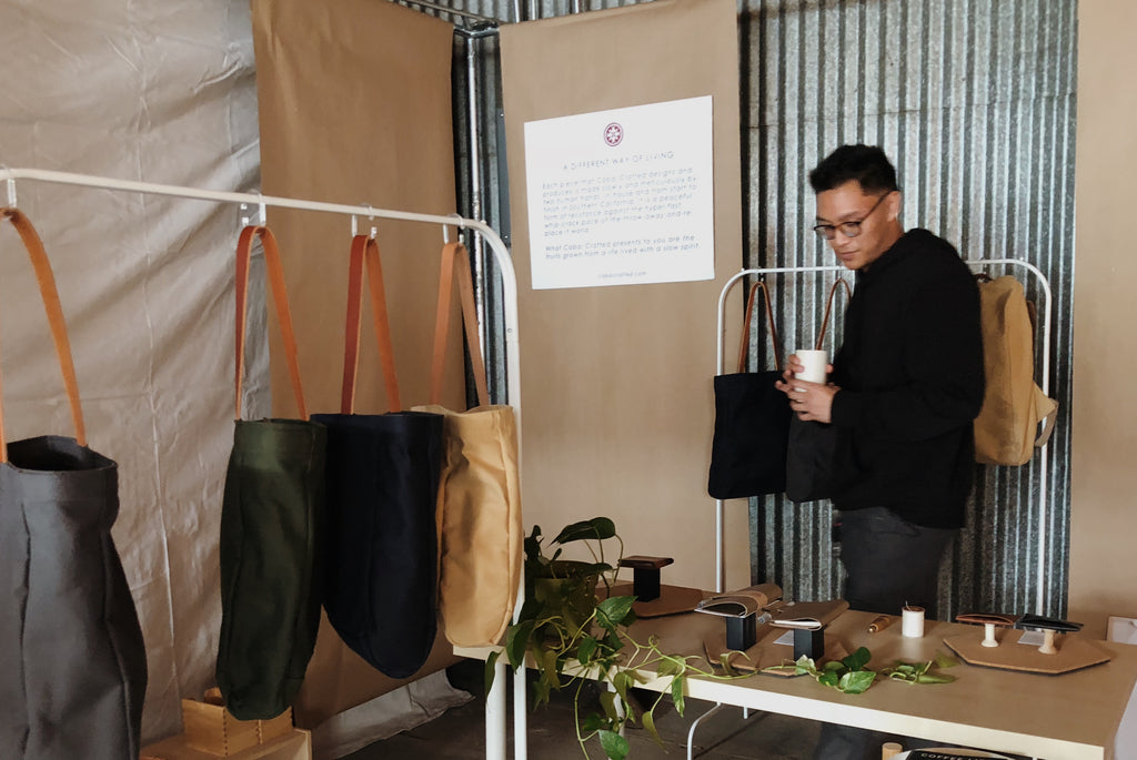 Cabal Crafted + Arcade Coffee Roasters Holiday Market