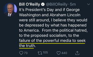 Bill O'Reilly - Media Fail to Seek the Truth