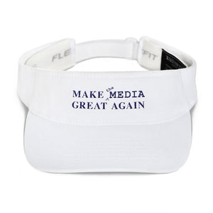 Make the Media Great Again - Classic Visor