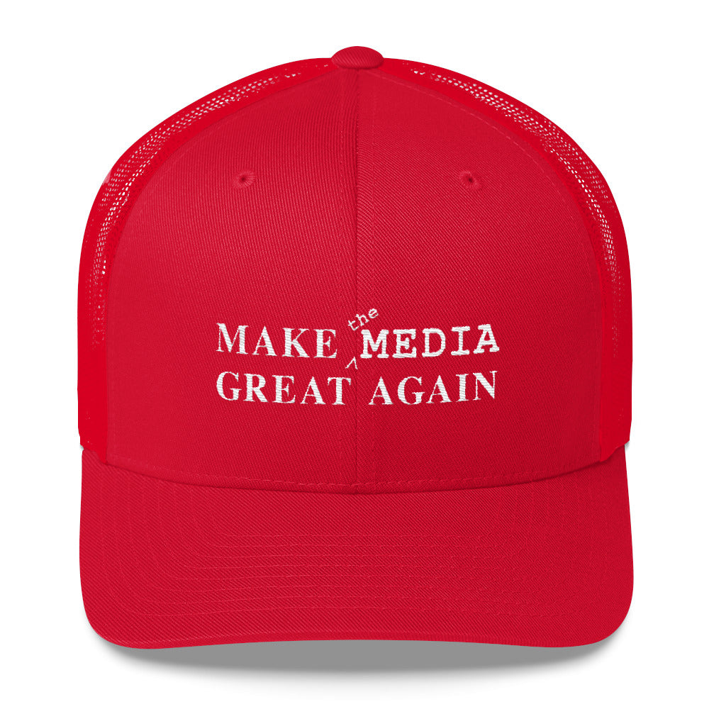 Make the Media Great Again - Classic Trucker