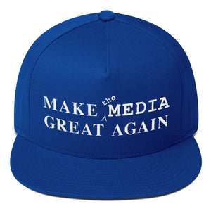 Make the Media Great Again, Classic Snapback, Royal Blue