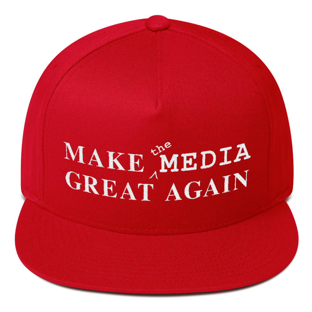 Make the Media Great Again - Classic Snapback