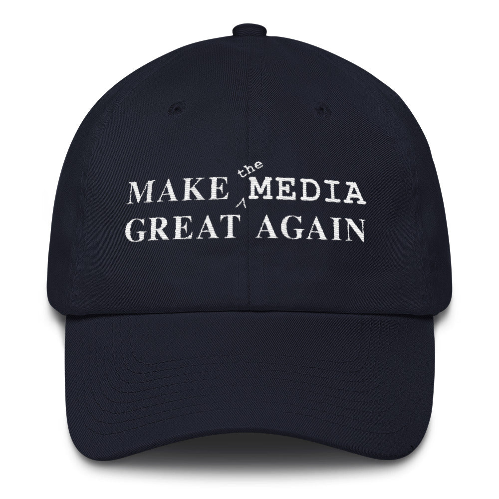 Make the Media Great Again - Patriot 3 (Navy)