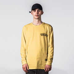 Thing Thing Ded L/S Tee - Yellow HZ State