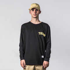 Thing Thing Ded L/S Tee in Black State