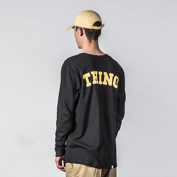 Thing Thing Ded L/S Tee Black State