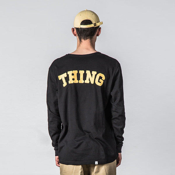 Thing Thing Ded L/S Tee (Black State)