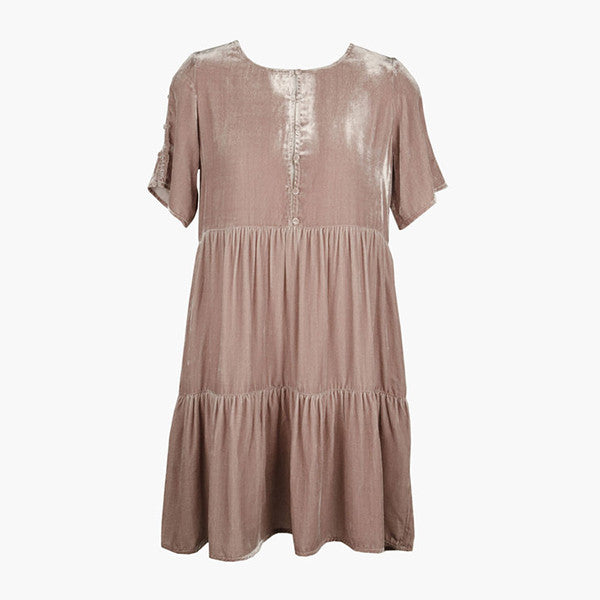 Lonely Lynch Tee Dress - Blush