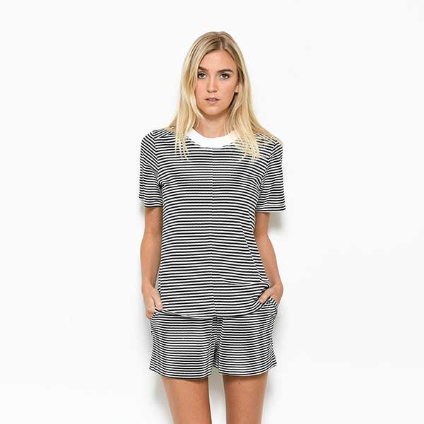 Five Each / Slouchy Tee - Stripe